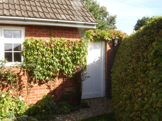 Saxilby, UK: Your Private Entrance