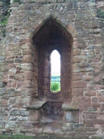 Goodrich, UK: Window seats