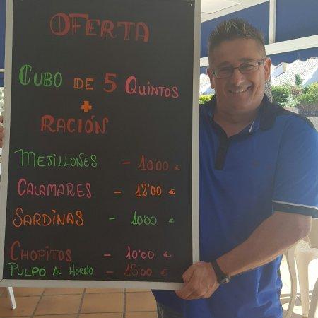 Cabo de Palos, España: Fotos variadas de personas amigos y platos que podéis encontrar en restaurante mediterraneo