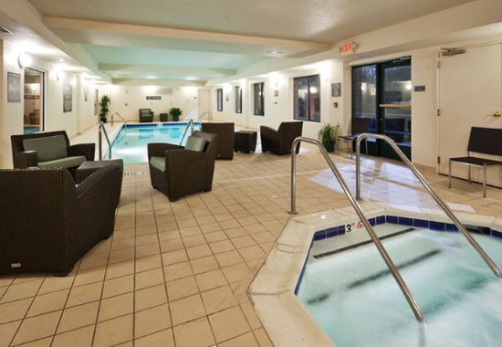 Oak Brook, إلينوي: Indoor Pool & Spa