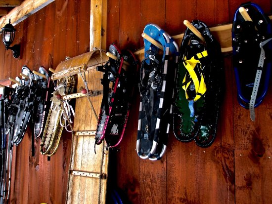Ripton, Вермонт: Snowshoes to use at no charge