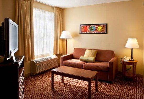 Newark, DE: One-Bedroom Suite – Living Area