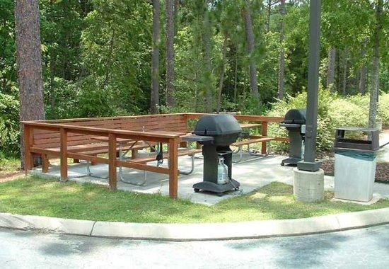 Pinehurst, Carolina del Nord: BBQ Area