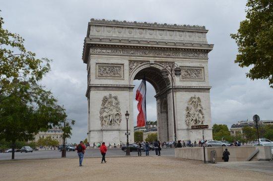 Arco Del Triunfo Picture Of Arc De Triomphe Paris