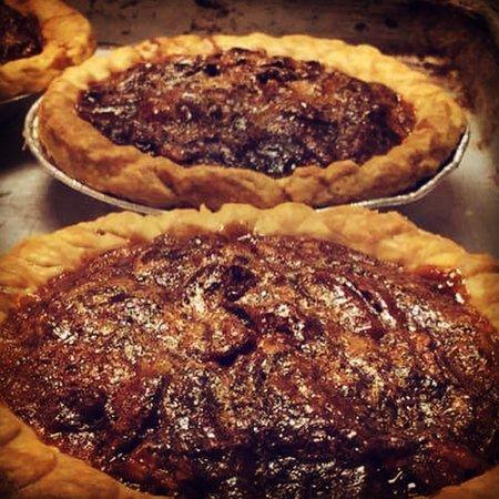 Cleveland, GA: Bourbon Chocolate Pecan Pie made daily
