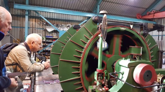 Ravenshead, UK: Winding engine