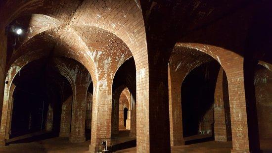 Ravenshead, UK: Underground reservoir