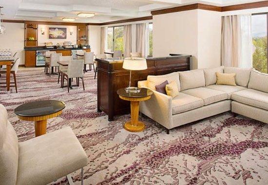 Pleasanton, كاليفورنيا: Concierge Lounge