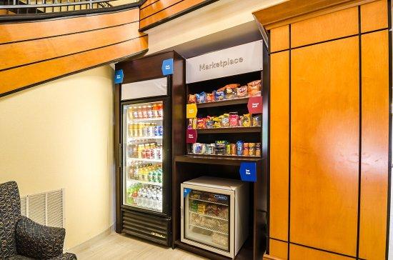 Glen Allen, VA: Vending area
