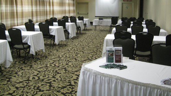 Elmira's breakout meeting rooms available