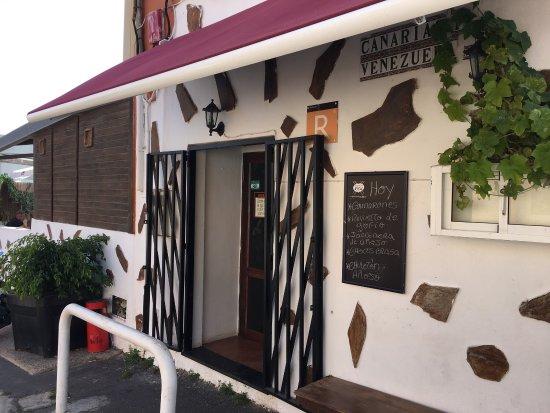 Arafo, España: Un rincón de buena comida para charlar