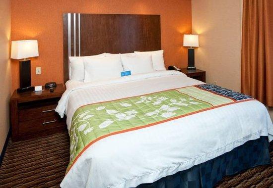 Millbrae, Californië: King Guest Room Sleeping Area