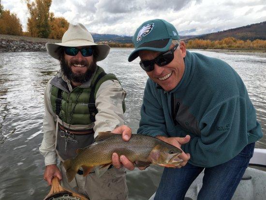 Teton Village, WY: Fishing trip on snake river...minutes away