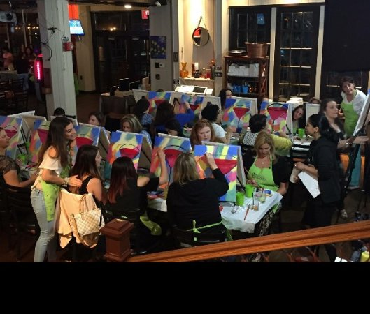 South Shore Bar & Grill: Paint Nite