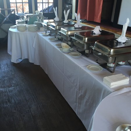 South Shore Bar & Grill: Buffet for private party