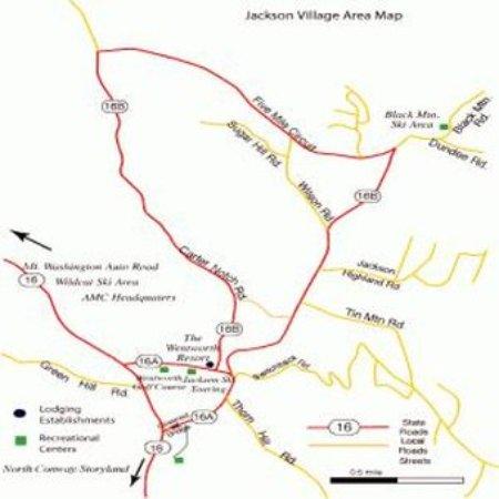 Jackson, NH: Wentworth - Map