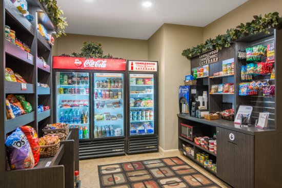 Jefferson City, MO: 24/7 access to food, snacks, and drinks in the Candlewood Cupboard