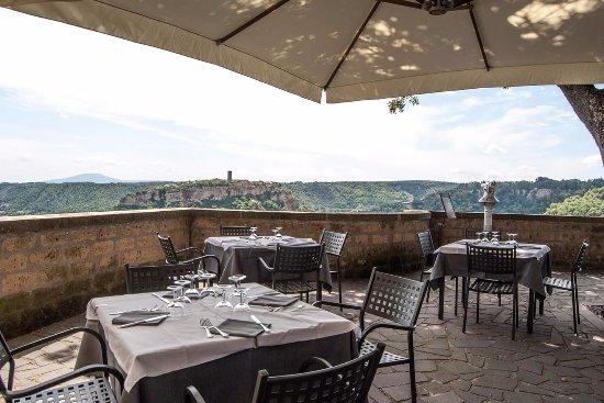 Lubriano, Italien: Spettacolare vista su Civita di Bagnoregio