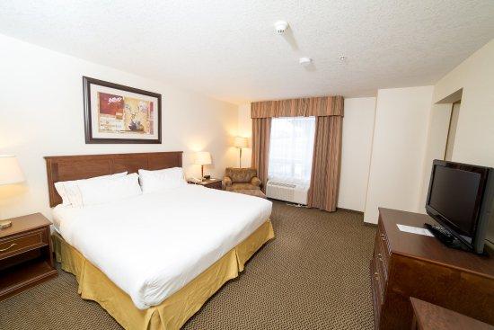 Drayton Valley, Kanada: King Bed Guest Room