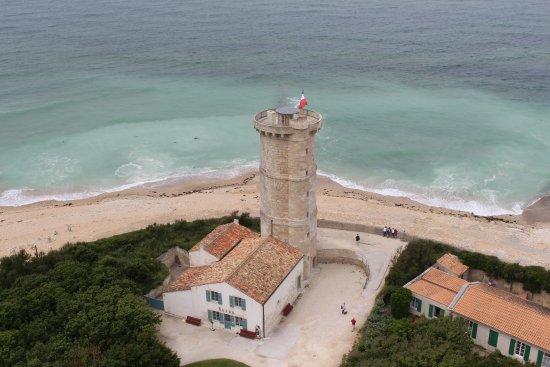 Saint Clement des Baleines, Francia: une vue du haut du phare