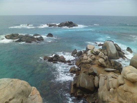 Parque Nacional Natural Tayrona: Hermosa vista de Cabo SJ