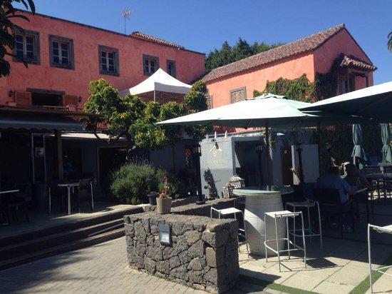 Santa Brigida, İspanya: Entrada restaurante