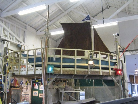 Watchet Boat Museum: Inside the boat museum