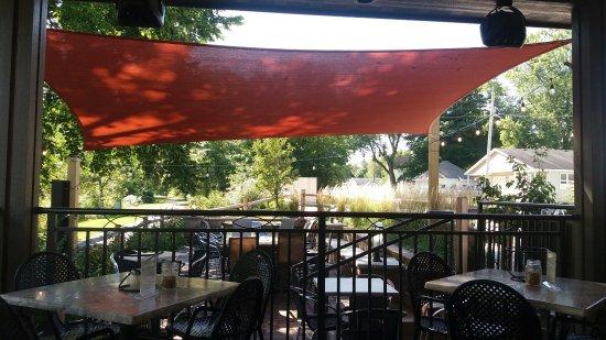 New Glarus, WI: Outdoor Patio