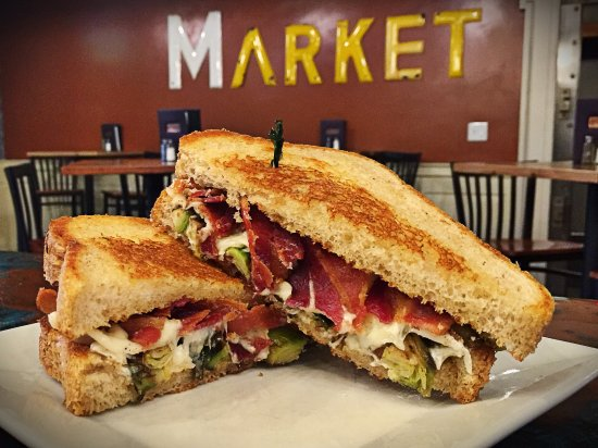 Brookings, Güney Dakota: Bacon and Brussels Grilled Cheese