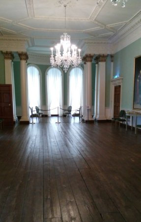 Rathfarnham Castle: one of the magnificent 18th century rooms on view