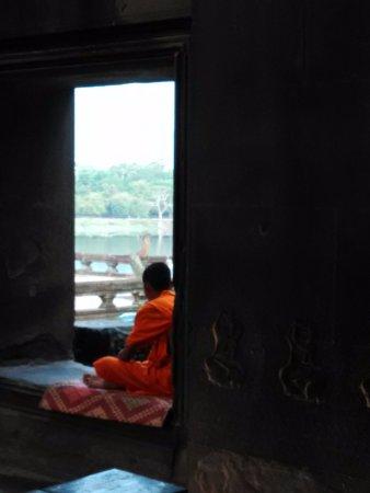 Vat Athvea: 是僧侶靜修的地方.