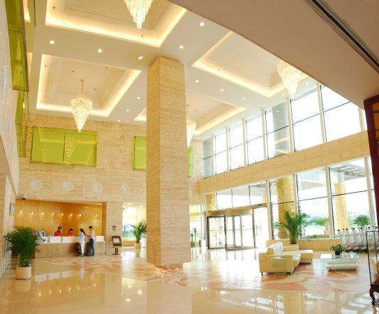 Hefei, China: Hotel Lobby