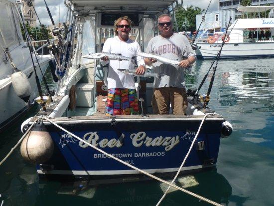 Christ Church Parish, Barbados: Fishing with Jeff on Reel Crazy