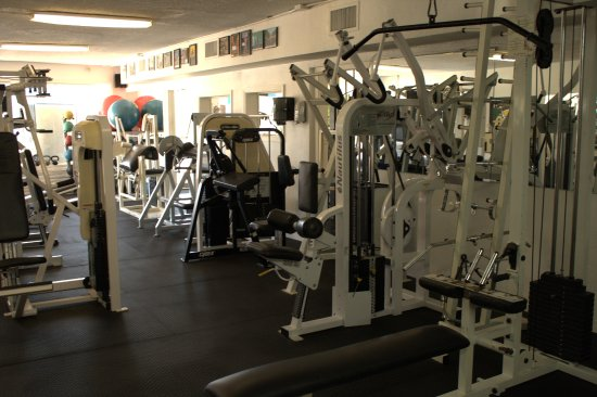 Beach Bods Gym All Machines Are Organized By The Body Part S Being