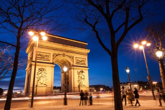 Champs Elysees Arc De Triomphe 15 Mn By Metro Picture Of