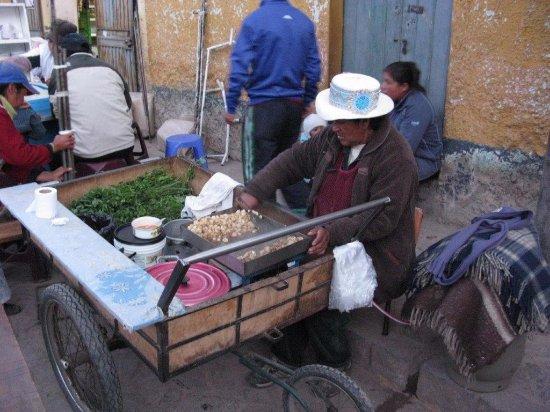 Chivay, Pérou : Avremmo preferito delle caldarroste