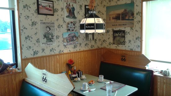 My booth old route 66 family restaurant dwight il