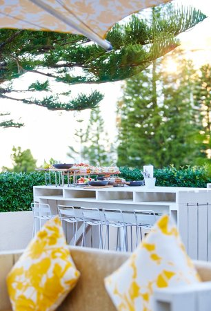 Coogee, Australien: Event catering on the terrace