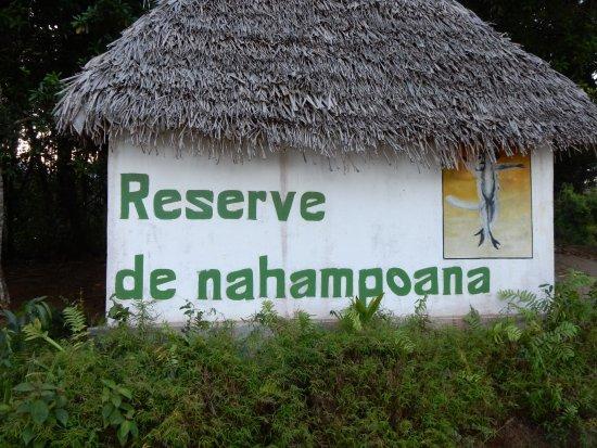 Tolanaro, Madagaskar: cartello del parco