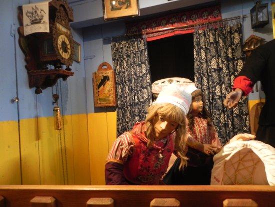 Marken, Países Baixos: Inside fisherman's cottage display
