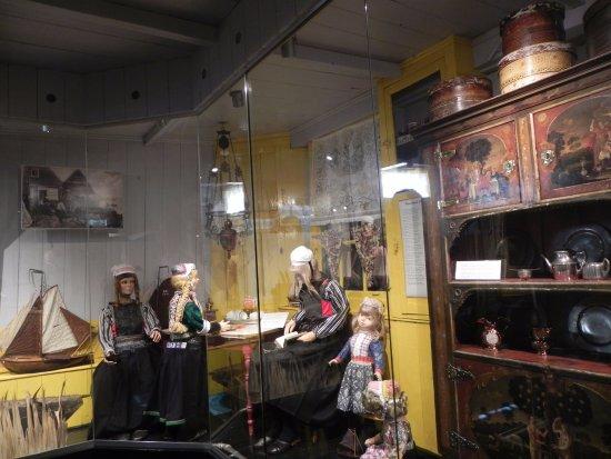 Marken, Países Baixos: Cottage display