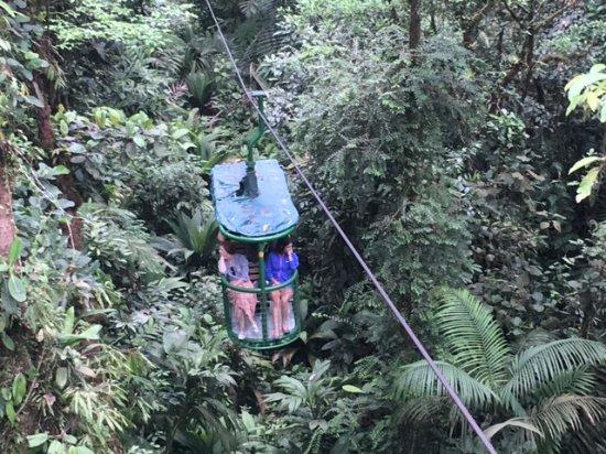 Guapiles, Costa Rica: Teleferico