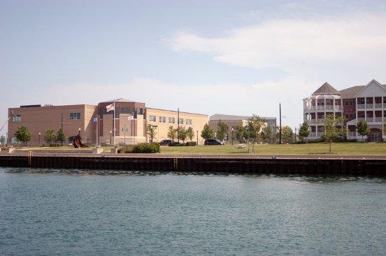 Kenosha, WI: Civil War Museum on Lake Michigan Harborside