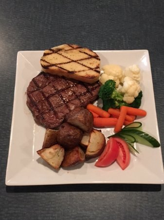 Lloydminster, Canada : Rib Eye Steak - charbroiled the way you like it!