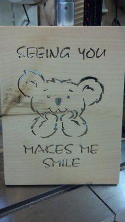 """Banner Elk, Carolina del Norte: Larry Parrish ~ """"Seeing You Makes Me Smile"""""""