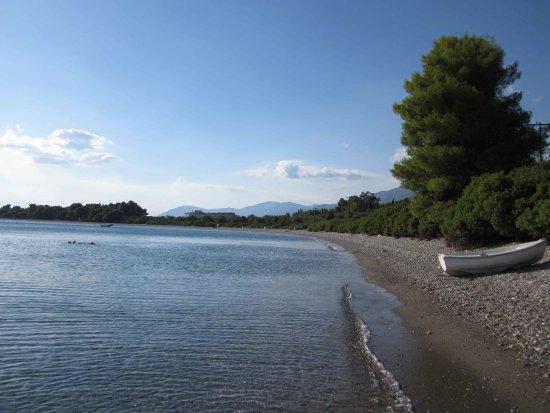 Rovies, Grecia: Beach 100m away