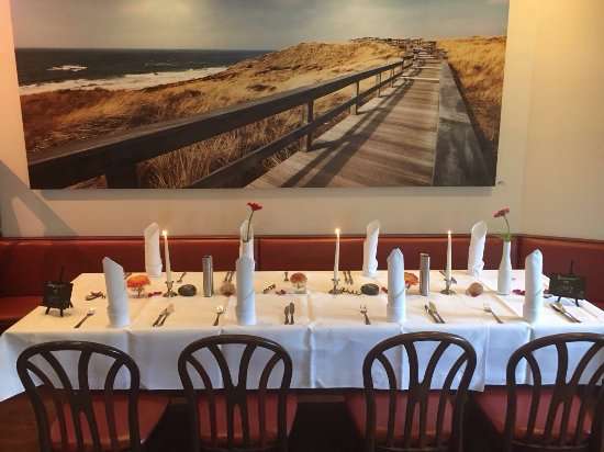 Festivitäten im Filou Taufe Hochzeitstag und Candle light Dinner