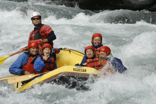 Turangi, นิวซีแลนด์: Tongariro River  Whitewater Rafting