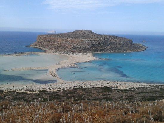 Balos Beach and Lagoon: Vista dall'alto