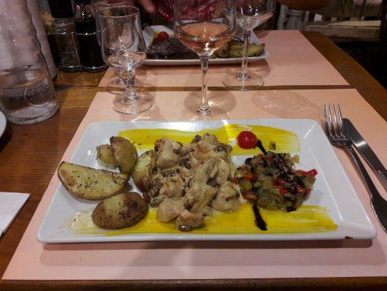 Le Beausset, Francia: Les Ravioles fraiches de ricotta-courgette et menthe
